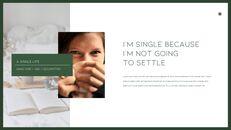 A Single Life presentation slide design_09