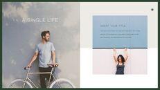A Single Life presentation slide design_22