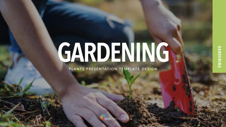 Gardening presentation slide_01