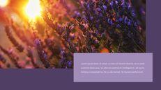 라벤더 프레젠테이션 PowerPoint 템플릿 디자인_09