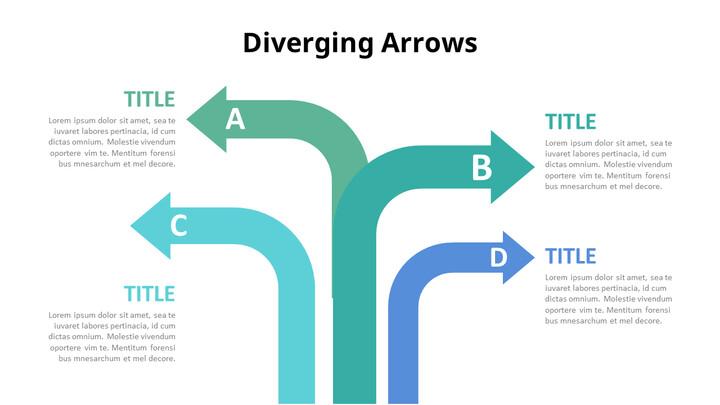 Diverging Arrows Infographic Diagram_01