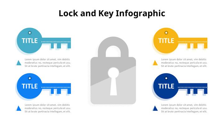 Key and Lock Infographics Diagram_01