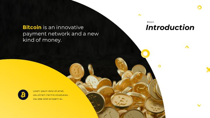 Bitcoin Financial Theme Powerpoint Presentation Video_02