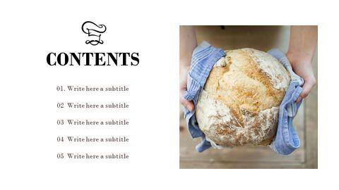 프랑스 빵 심플한 프레젠테이션 Google 슬라이드 템플릿_02