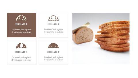 프랑스 빵 심플한 프레젠테이션 Google 슬라이드 템플릿_03