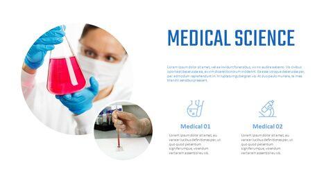 의학 심플한 슬라이드 디자인_02