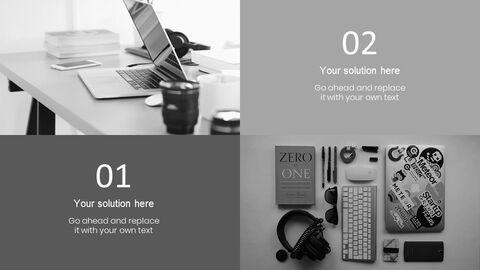업무용 책상 심플한 프레젠테이션 Google 슬라이드 템플릿_02