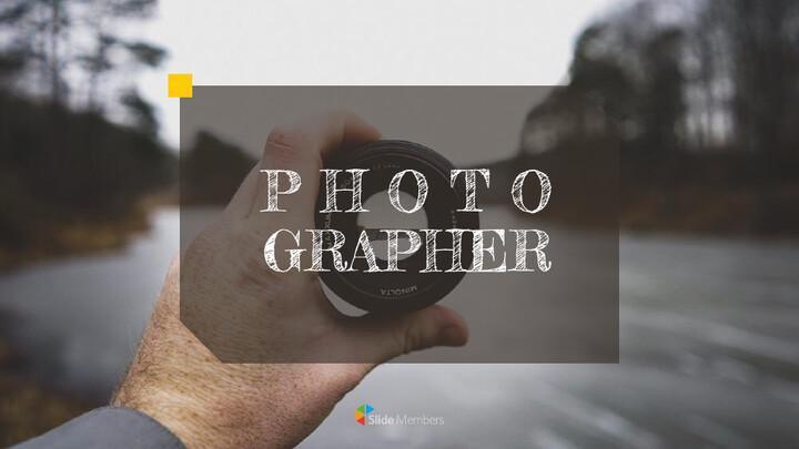Photographer Simple Presentation Google Slides Template_01