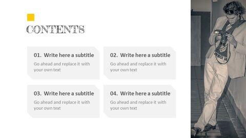 Photographer Simple Presentation Google Slides Template_02