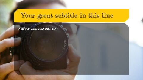Photographer Simple Presentation Google Slides Template_05