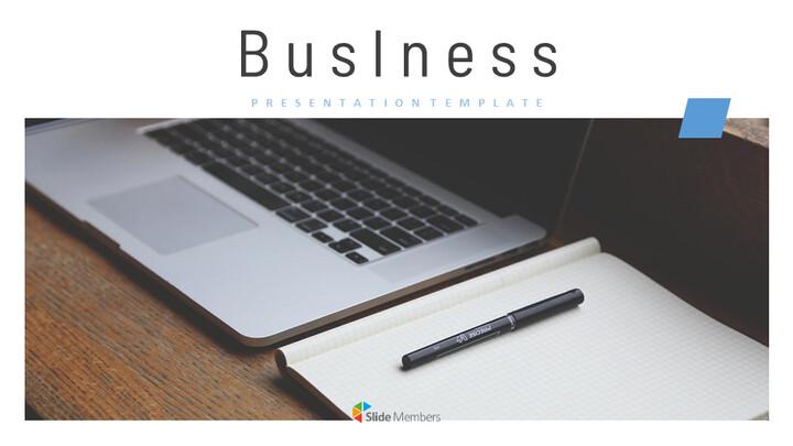 영업 비즈니스 심플한 Google 슬라이드 템플릿_01