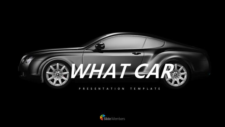 What car Simple Presentation Google Slides Template_01