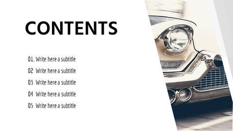 What car Simple Presentation Google Slides Template_02