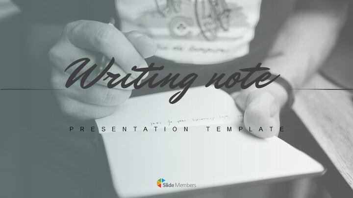 Writing Note Easy Google Slides_01