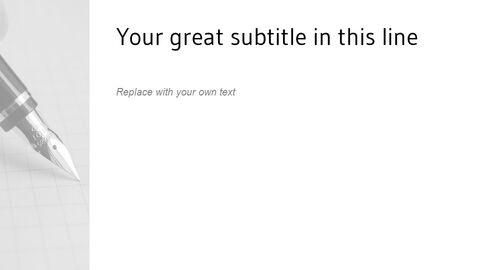 Writing Note Easy Google Slides_05