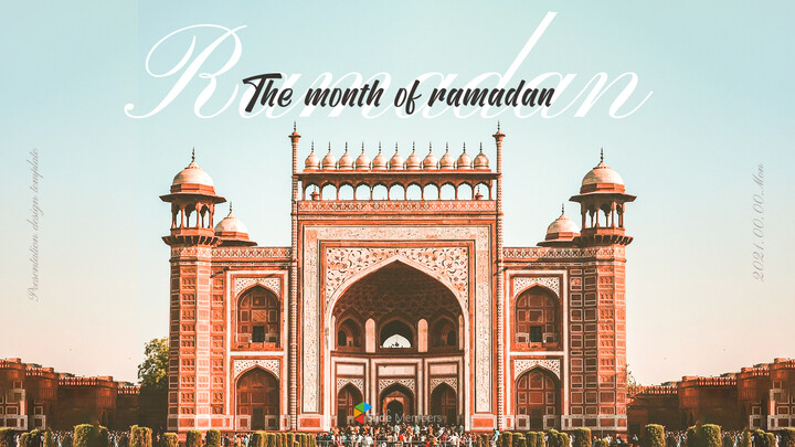 The Month of Ramadan PPT Templates Design_01