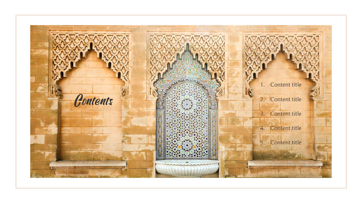 The Month of Ramadan PPT Templates Design_02