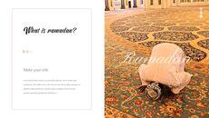 The Month of Ramadan PPT Templates Design_03