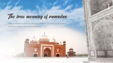 The Month of Ramadan PPT Templates Design_06