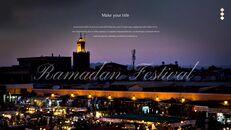 The Month of Ramadan PPT Templates Design_20
