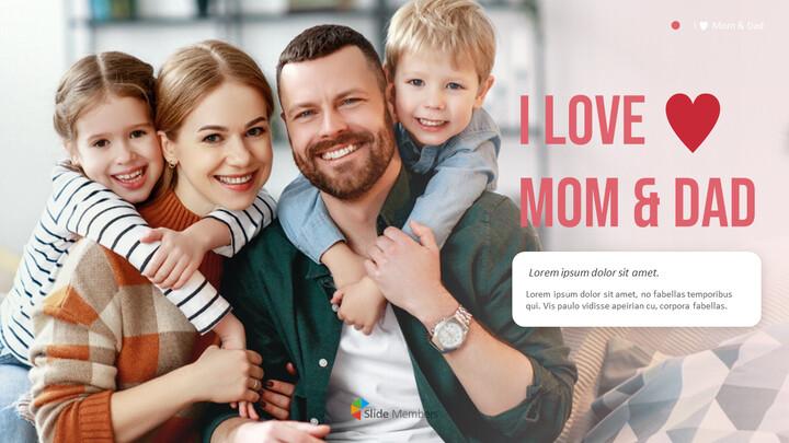 I ♥ Mom & Dad Business Presentation Examples_01
