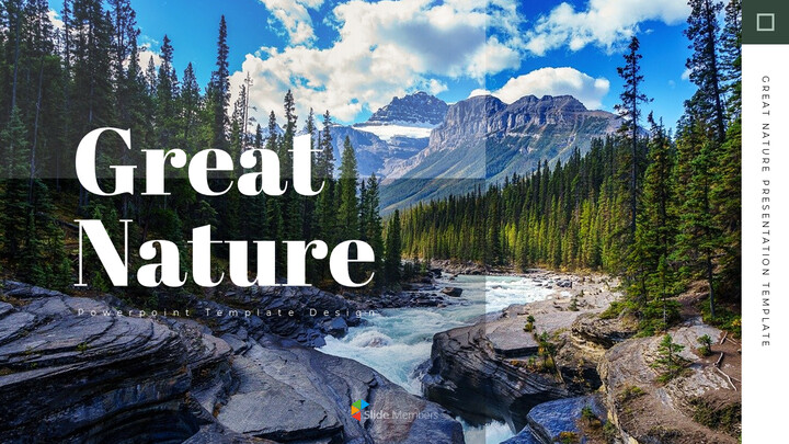 Great Nature slide template_01