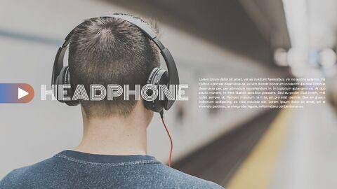 음향 장치 심플한 프레젠테이션 Google 슬라이드 템플릿_02