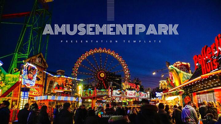 Amusement park Easy Google Slides_01