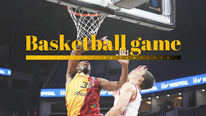 Basketball Game Easy Slides Design_01