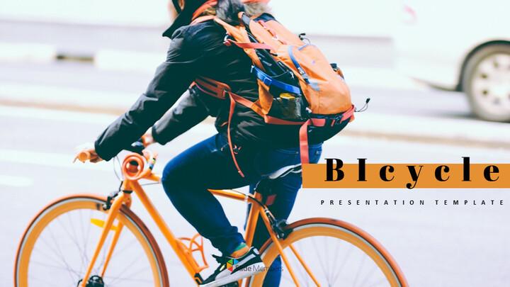 자전거 심플한 Google 슬라이드 템플릿_01