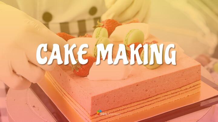 케이크 만들기 심플한 슬라이드 디자인_01