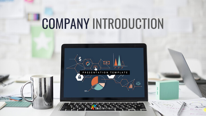 Company Introduction Simple Slides Design_01