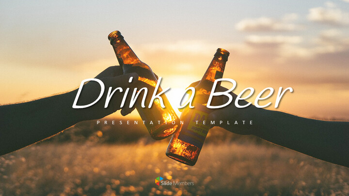 Drink a Beer Simple Presentation Google Slides Template_01