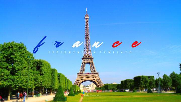 France Easy Google Slides Template_01