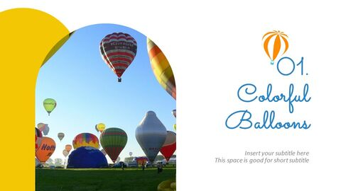 Hot air balloon Easy Slides Design_02