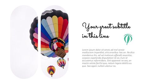 Hot air balloon Easy Slides Design_03