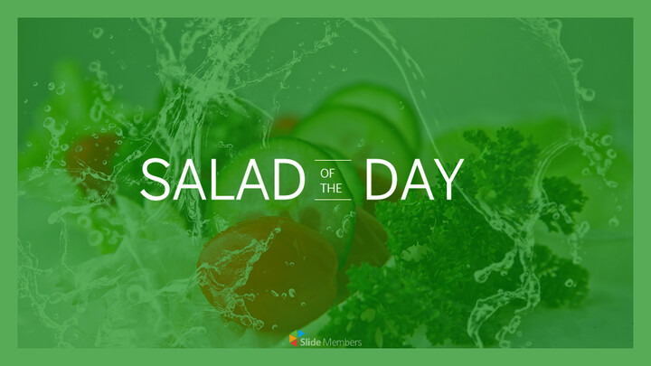 Salad of the Day Simple Google Slides_01