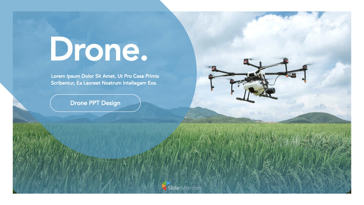 Drone keynote presentation templates free_01