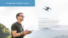 Drone keynote presentation templates free_12