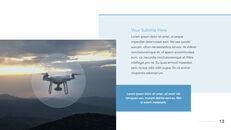 Drone keynote presentation templates free_13