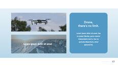 Drone keynote presentation templates free_17