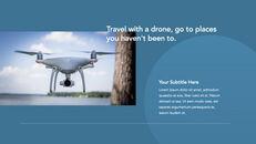 Drone keynote presentation templates free_21