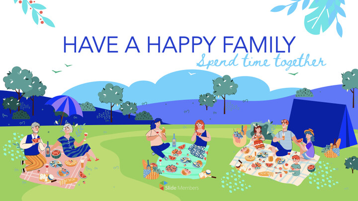 Have a Happy Family PowerPoint for mac_01