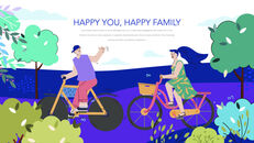 Have a Happy Family PowerPoint for mac_25