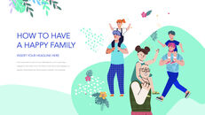 Have a Happy Family PowerPoint for mac_26