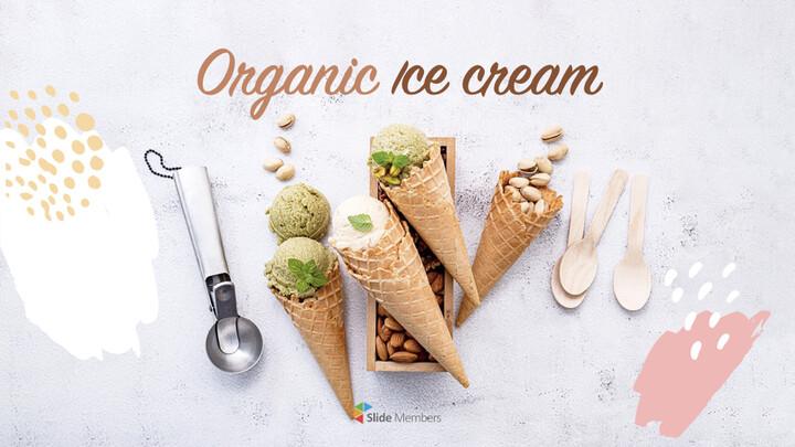 Organic Ice Cream template keynote_01