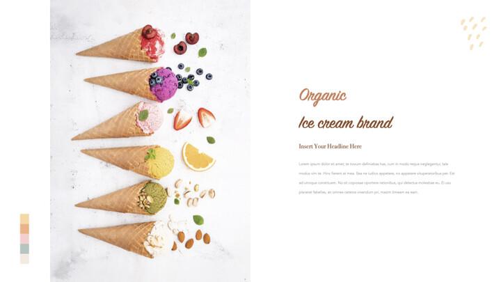 Organic Ice Cream template keynote_02