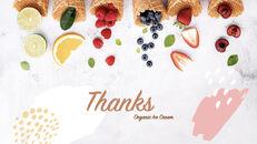 Organic Ice Cream template keynote_35