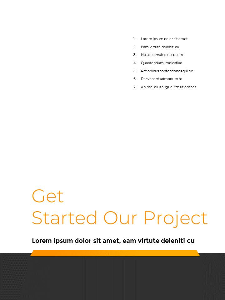 Start Project Multipuropose Template Design presentation slide design_02