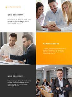 Start Project Multipuropose Template Design presentation slide design_16